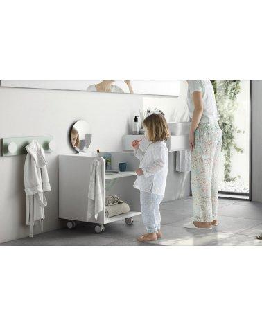 Mueble de Higiene con Ruedas Arco Iris