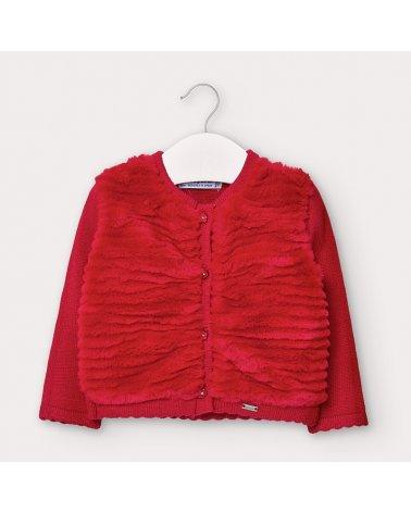 Rebeca tricot peluche Mayoral
