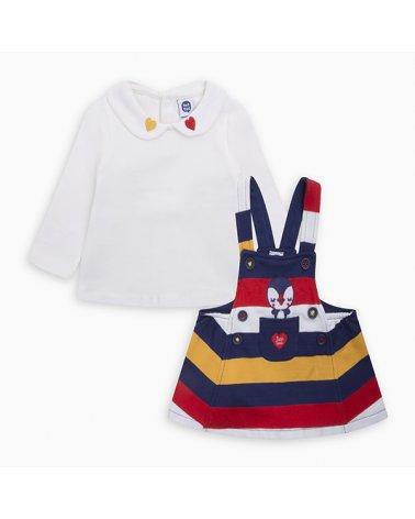 Pichi Felpa Y Camiseta Punto