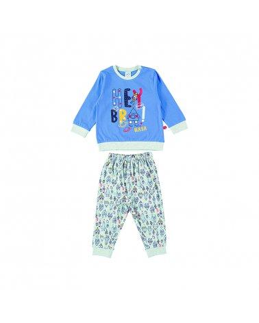 """Baby Boy Pijama """"Hey Bra!"""""""" Yatsi"""