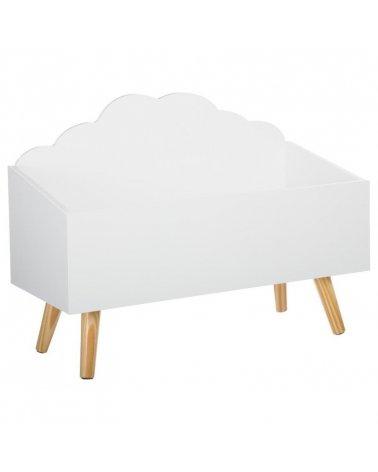 Baúl Nube Blanco Patas de Atmosphera