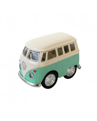 Furgoneta Mini Volkswagen Clásica Menta