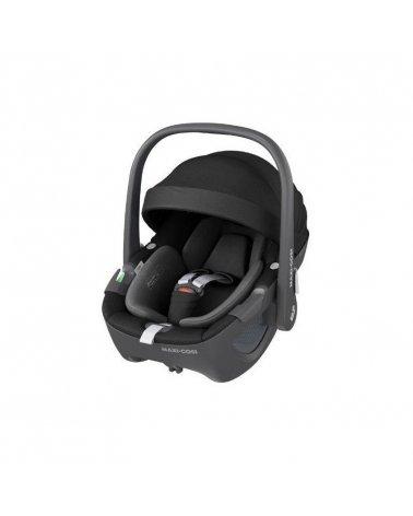 Silla para Coche Grupo 0 Pebble 360º de Maxi-Cosi Essential Black