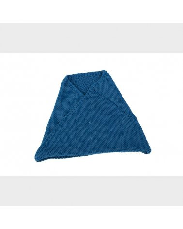 Braga Cruzada Cuello Punto Miralles Azul
